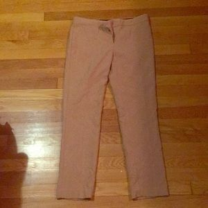 Camel colored trousers